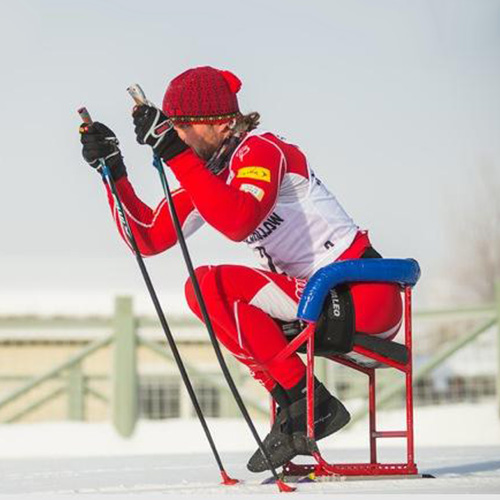 Adaptive Sit Skiing